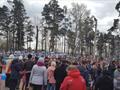 участие в митинге, посвященном Дню Победы